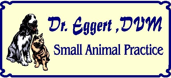 BB11735 – Engraved Veterinarian Practice Wood Sign with Dog and Cat