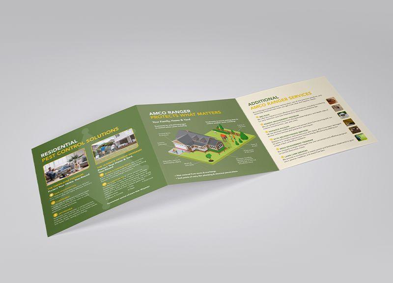 Square Brochure | Inside