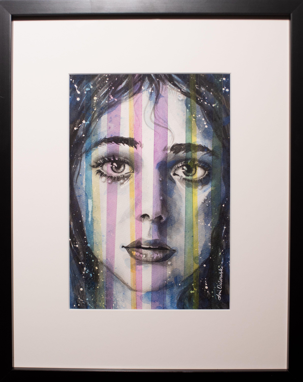 """Lori Orlowski - """"A Case of Stripes"""""""
