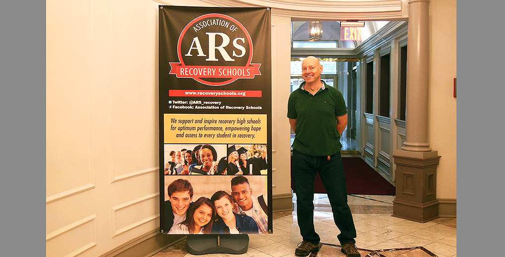 exterior banner stand