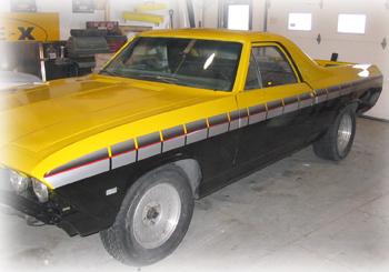 Custom Vehicle Striping