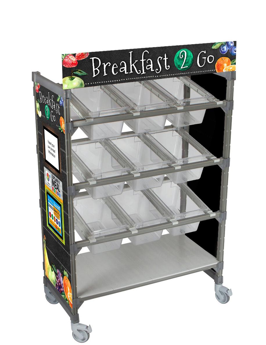 Breakfast 2 Go Flex Cart Graphics