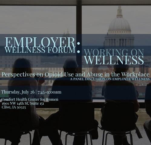 Working on Wellness Employer Wellness Forum