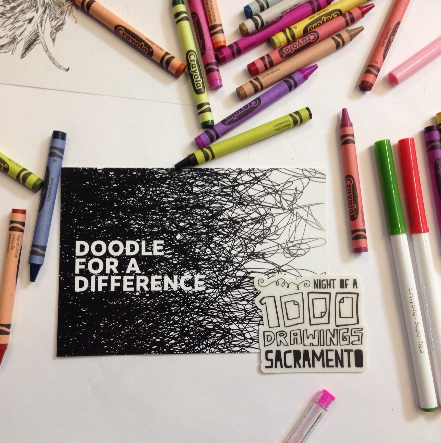 Doodle for a difference - Sept. 5