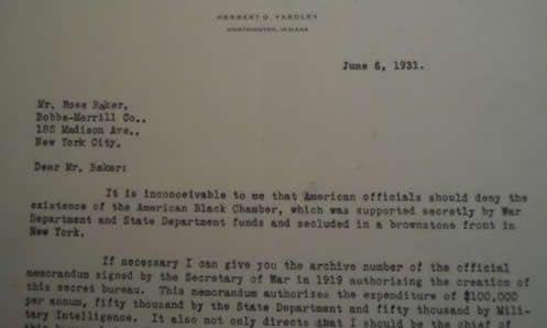 Rare Yardley Letter