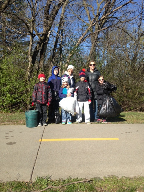 Spring 2016 Trail Clean Up