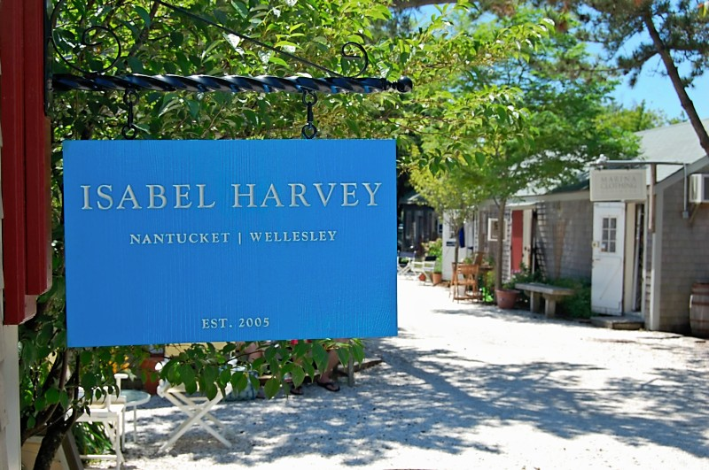 SA28329 - Large Engraved Nantucket Storefront Sign