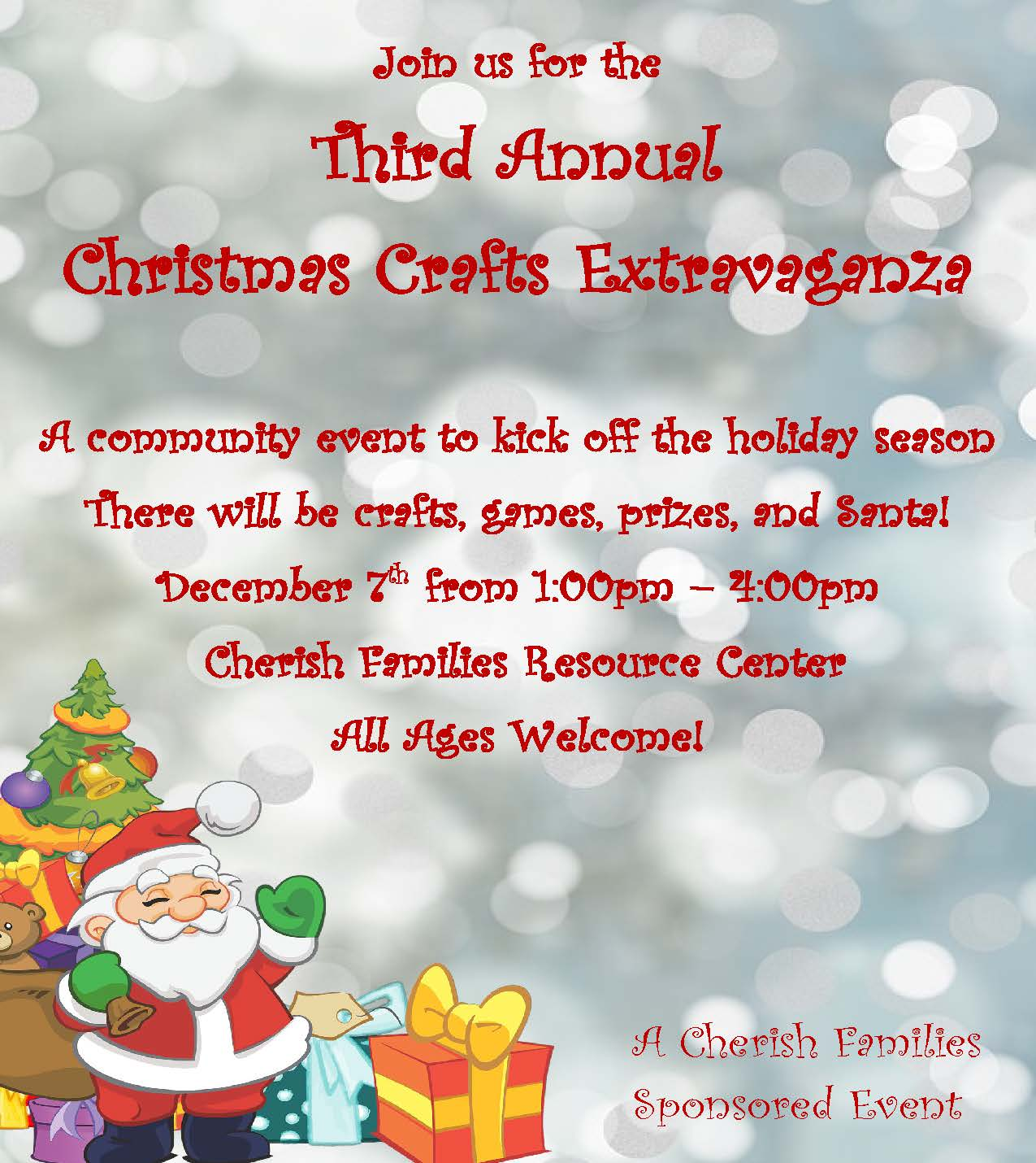 Third Annual Christmas Crafts Extravaganza
