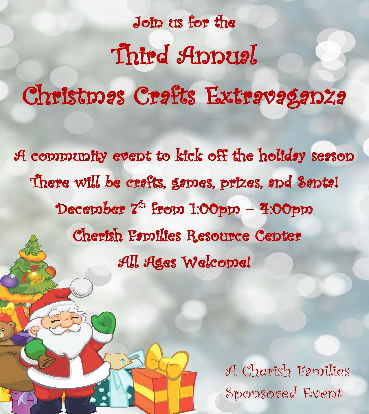 Third Annual Christmas Crafts Extravaganza