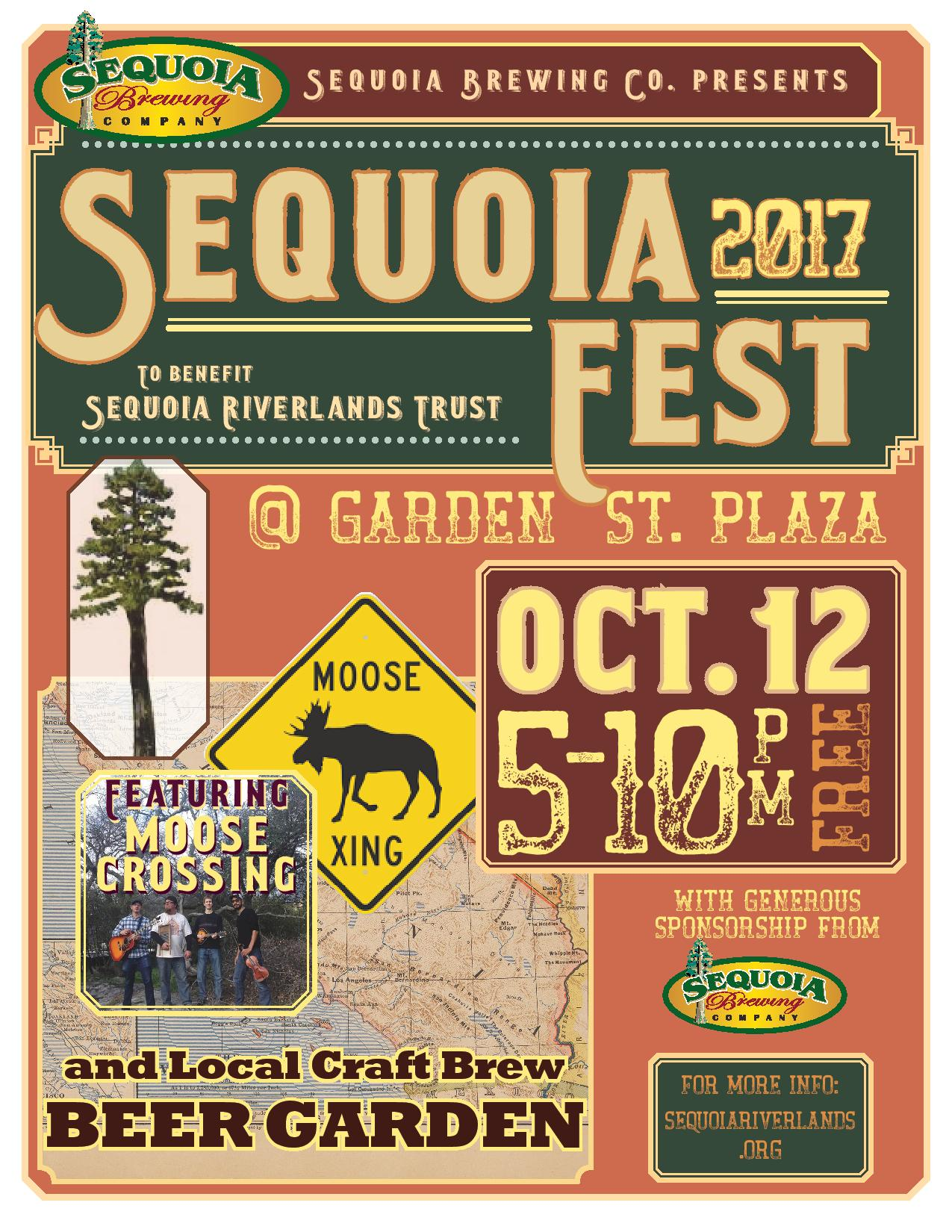 SequoiaFest 2 happening October 12
