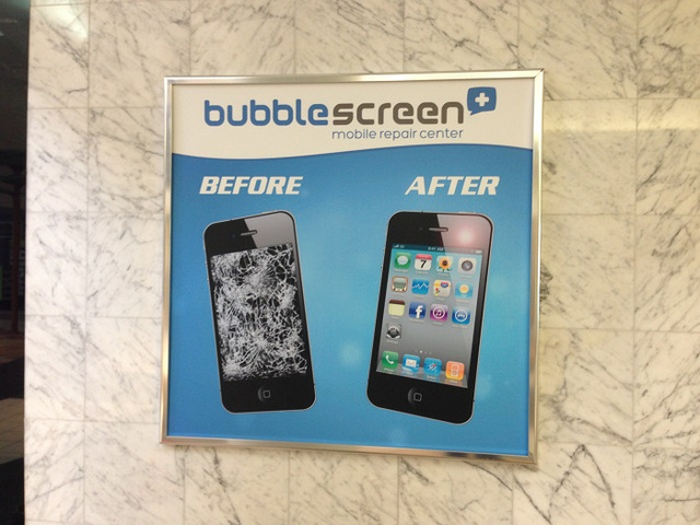 Framed digitally printed posters for the Buena Park Mall