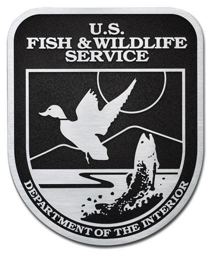 MH9090 -  Precision Tooled US Fish & Wildlife Service Plaque, 2.5-D