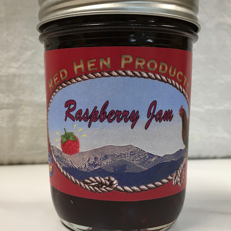 Red Hen Raspberry Jam