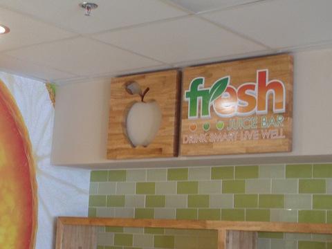 Interior signs for restaurants in Orange County