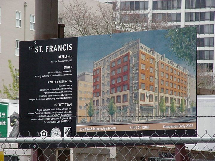 St. Francis Site Sign