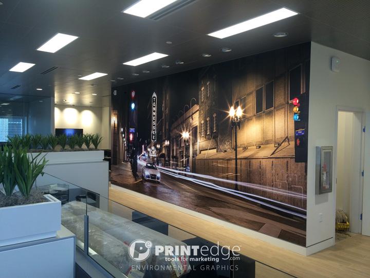 Printedge Environmental Graphics Gallery - Harper audi