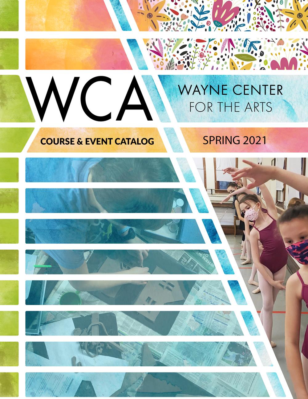 WCA 2021 Spring Course & Event Catalog