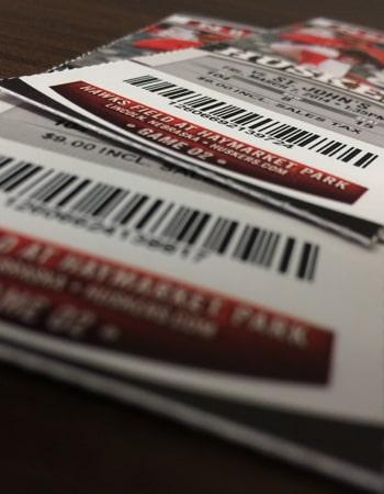 Ticket Printing & Design
