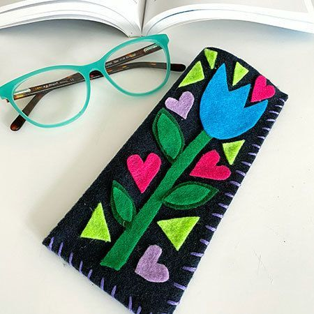 Colorful Eyeglass Case