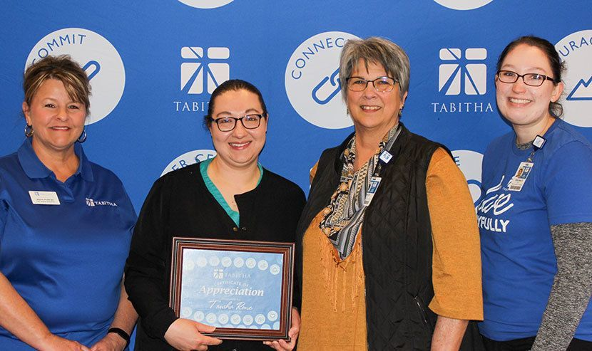 Tausha Rowe Named Tabitha WOW TEAMember of the Year