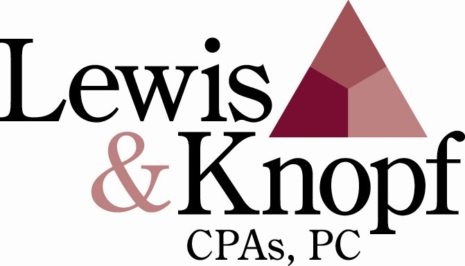 Thank you to our Ties & Tails Pearl Sponsor, Lewis & Knopf CPAs PC