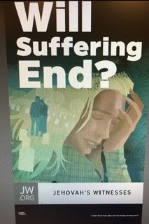 Will Suffering End (NEW PRINT)