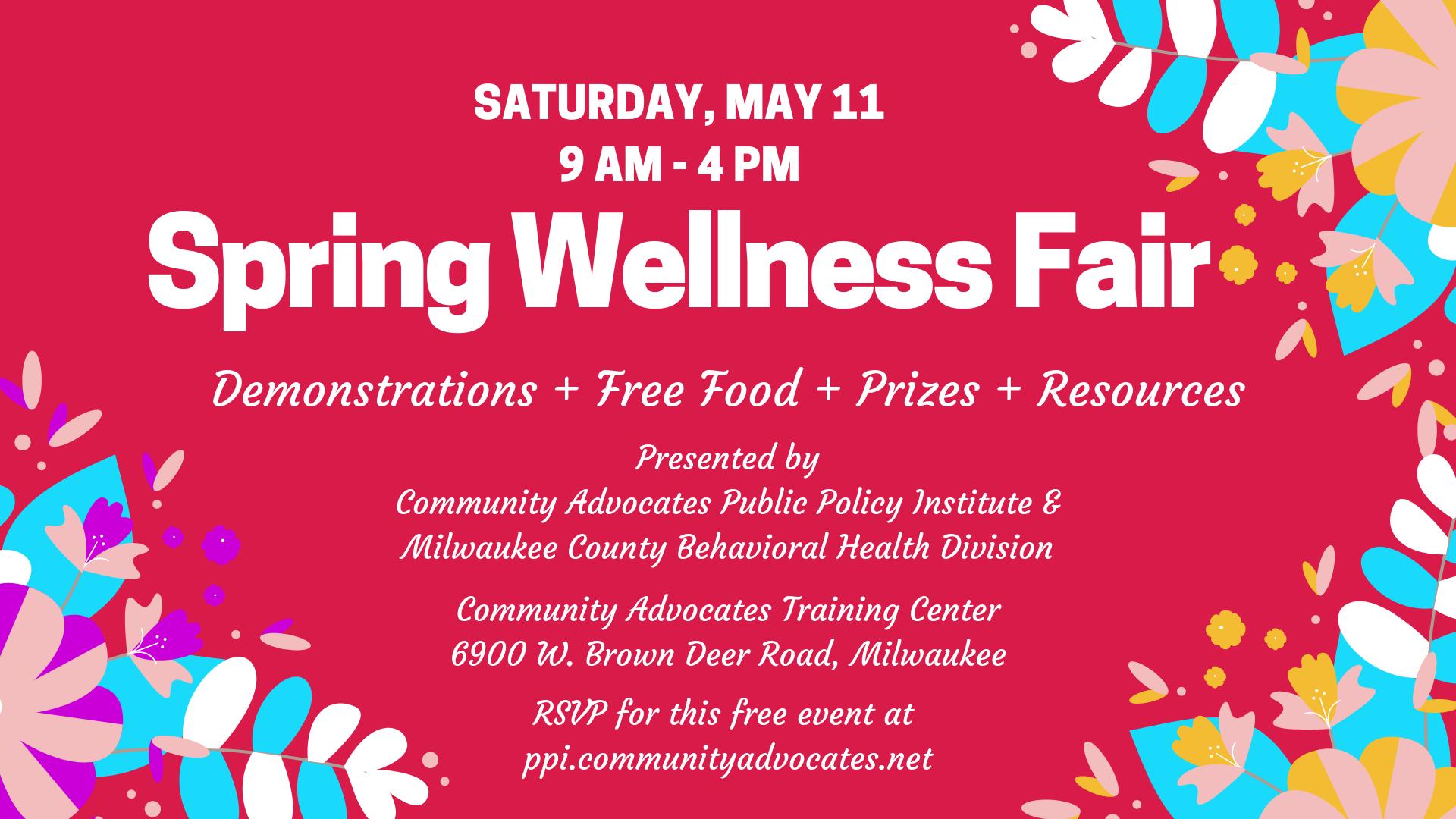 Spring Wellness Fair