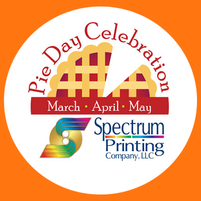 Every Day is Pie Day at Spectrum Printing Company...