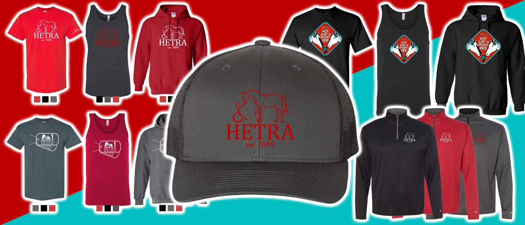 The HETRA Apparel Store Is Open!