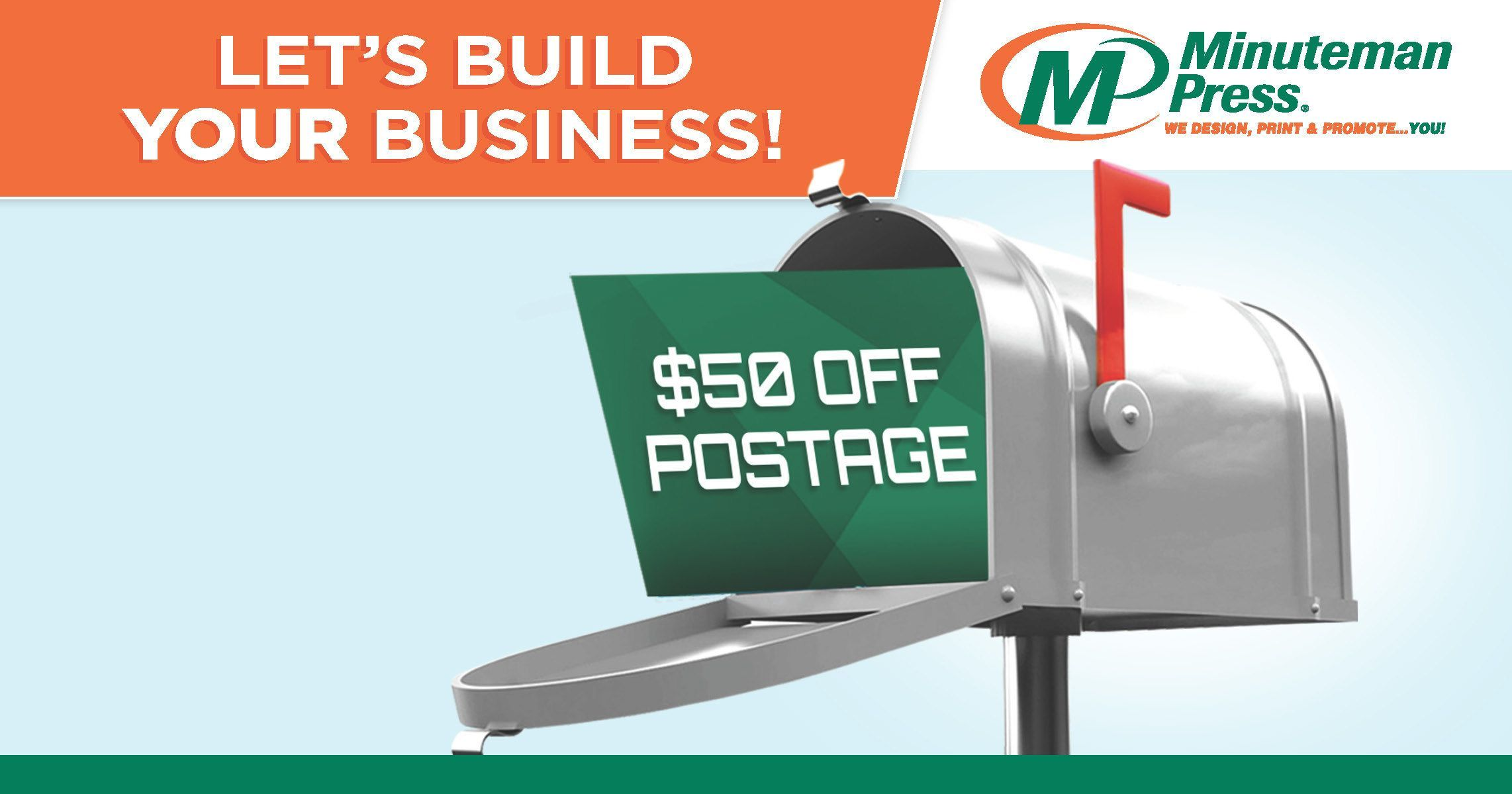 Save *$50 off postage with an Every Door Door Direct mailing