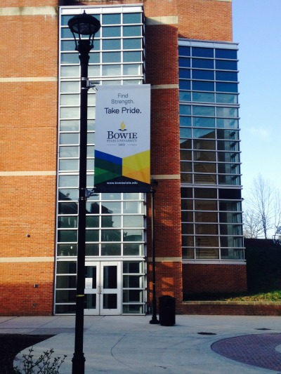Light Pole Banner [Bowie State University]