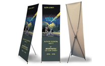 Econ X Banner Stand