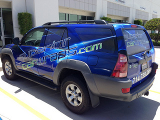 Best car wraps in Orange County at SuperiorCarWraps.com