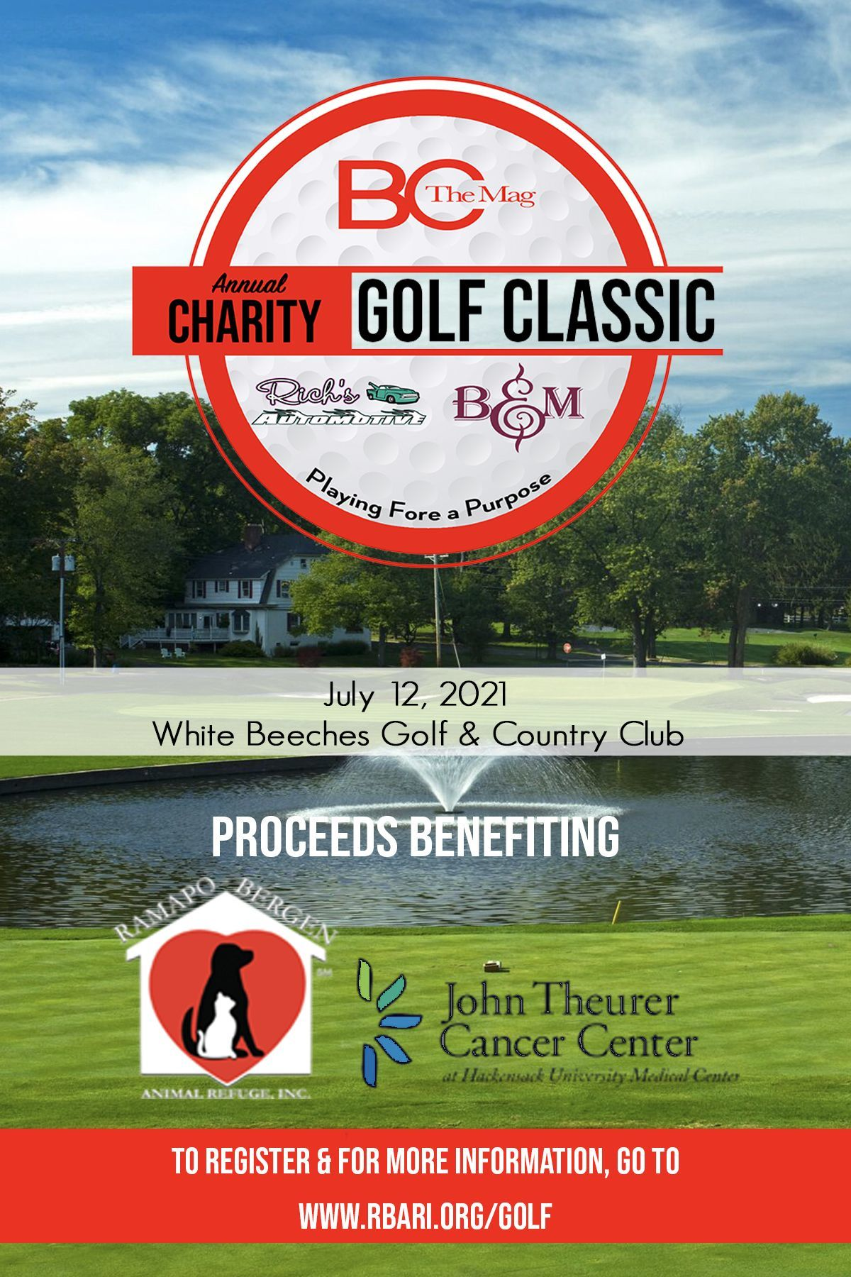 BC The Mag's Annual Charity Golf Classic