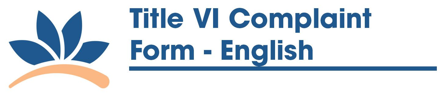 Title VI Complaint Form - English