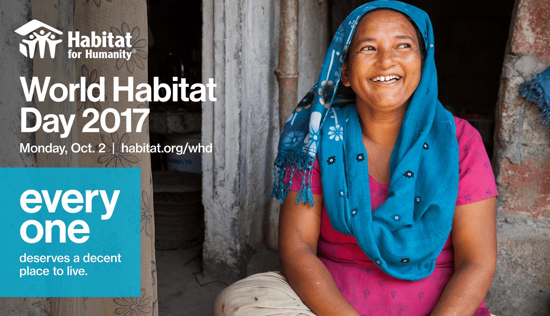 World Habitat Day 2017: Affordable Homes