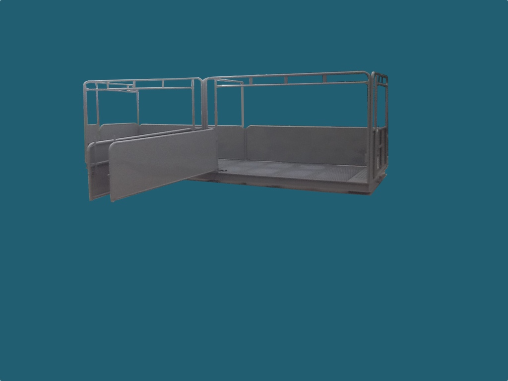 23' X 7' Hog Scale Swing Gates