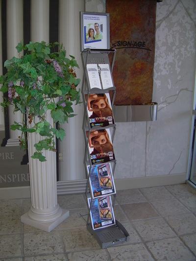 Brochure Holder 2