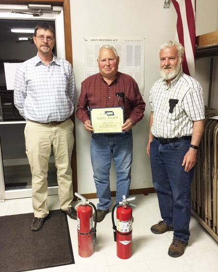 Julian purchases fire extinguishers with grant