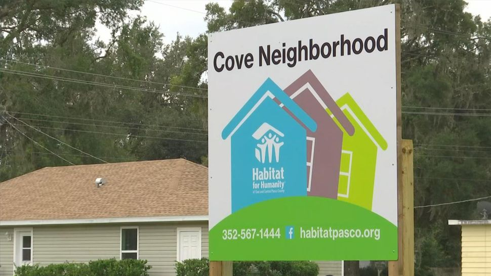 Habitat for Humanity Building New Homes in Dade City