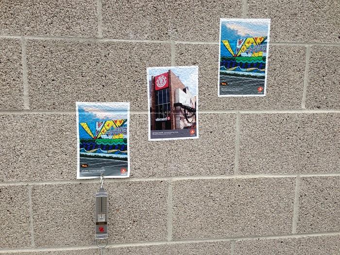 Testing Wall for Vinyl Adhesion
