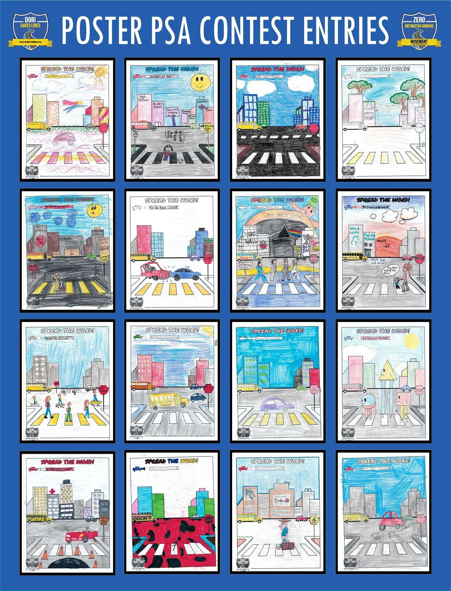 Poster PSA Entries 65-81