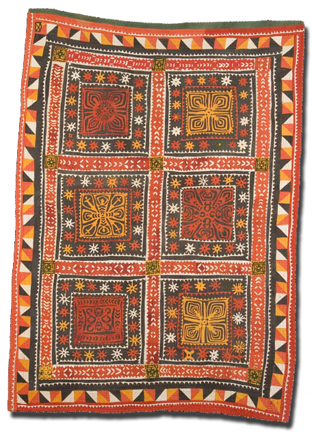 Ralli, Maker unnknown, Made in Middle Sindh, Pakistan, Circa 1960-1975, IQSC 2006.001.0007