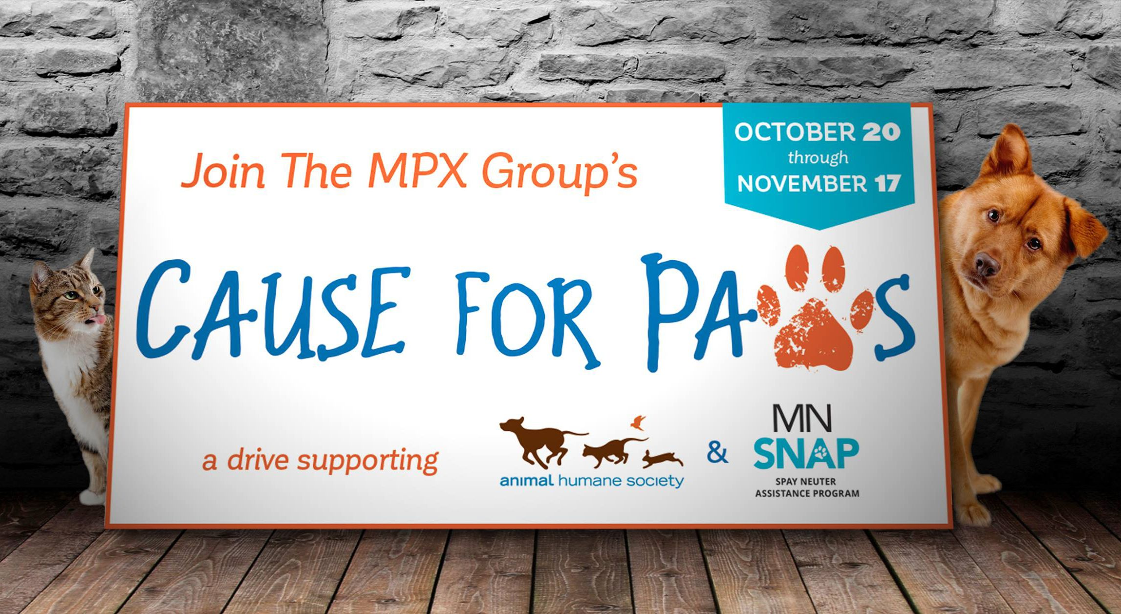 MPX Cause for Paws