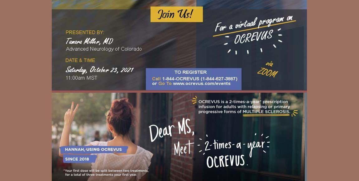 OCREVUS Virtual Program