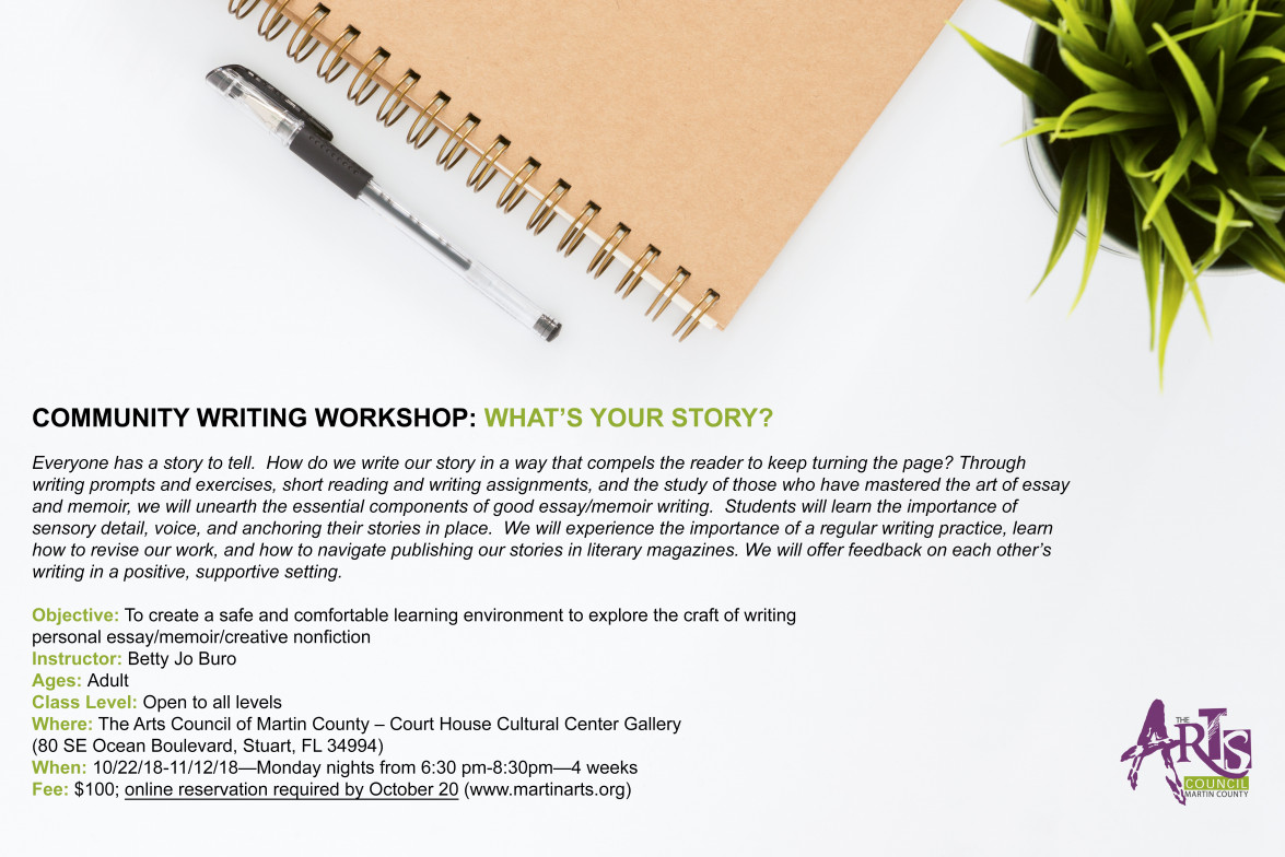 Community Writing Workshop: What's Your Story?