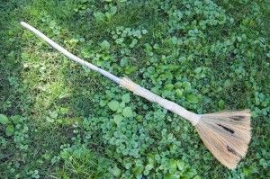 Goodwill DIY witch's broom finished photo