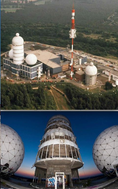 FS Teufelsberg then and now