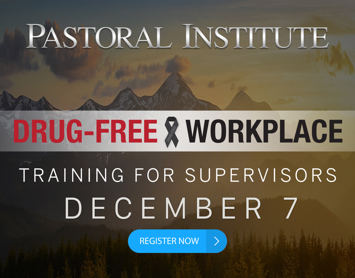 Drug Free Workplace Training for Supervisors