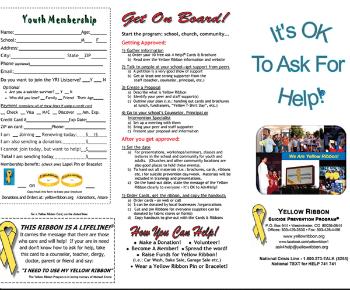 Yellow Ribbon Brochure Youth